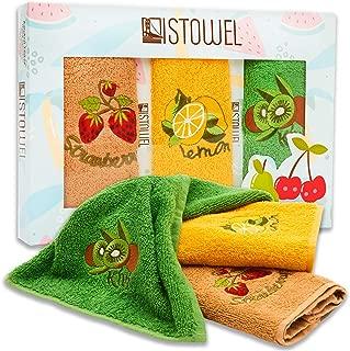 ISTOWEL Decorative Kitchen Towels and Dishcloths Sets - 12