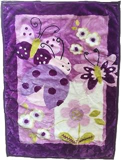 Best purple butterfly baby blanket Reviews
