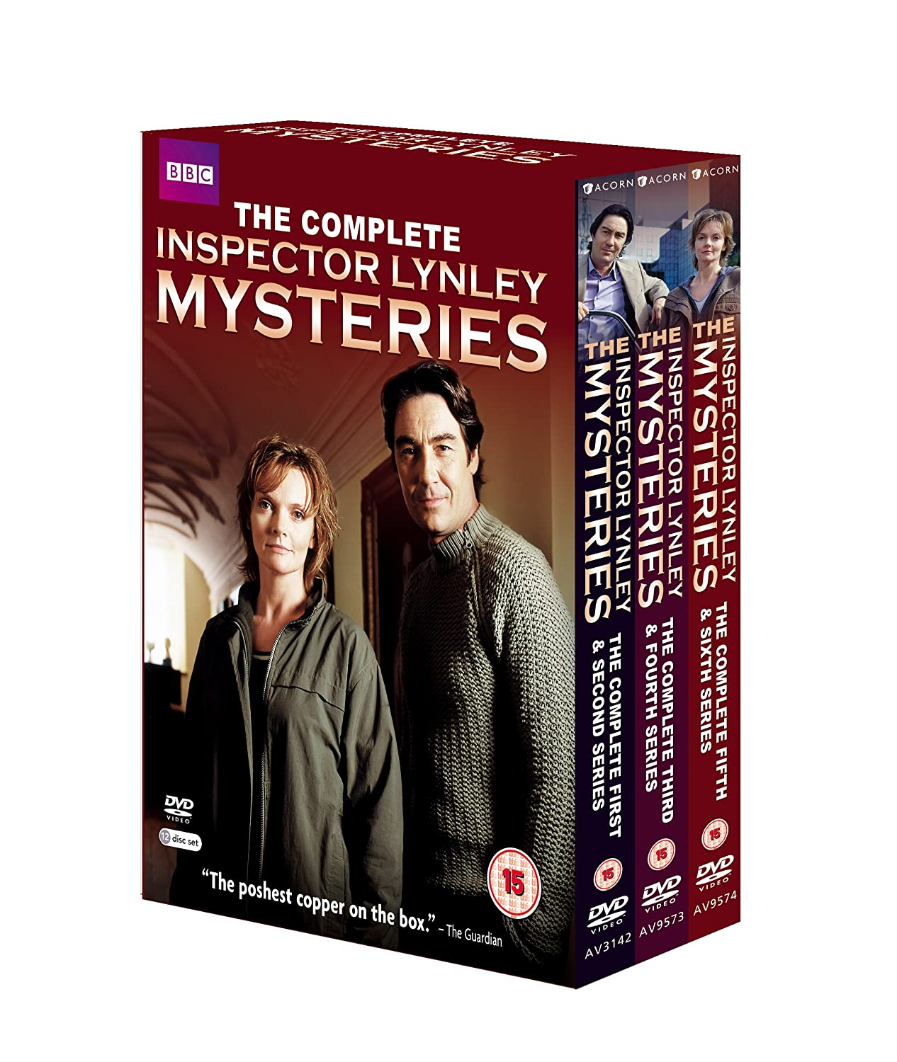 The Inspector Lynley Mysteries DVD Superior Recommended Complete 1-6
