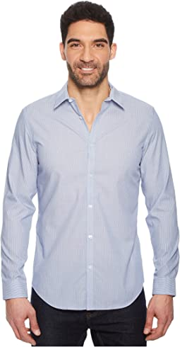 Calvin Klein Infinite Cool Poplin Button Down Shirt