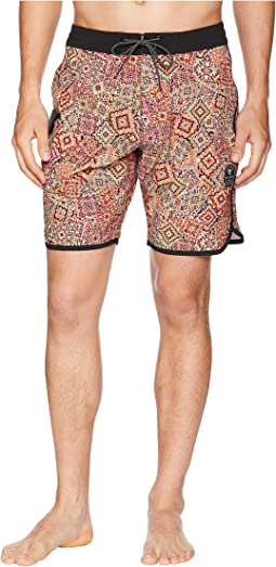 Fiesta Four-Way Stretch Boardshorts 18.5""