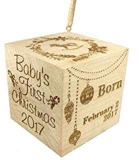 Wedding Collectibles Baby's First Christmas Ornament (2019) Large 2.5