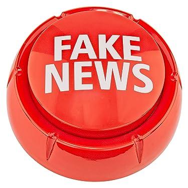 Fairly Odd Novelties Trumpedup Fake News Button, 7 Sayings Funny Donald Trump Political Humor Gift