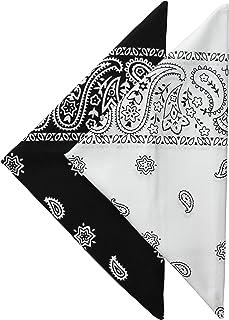 Levi's Men's 100% Cotton Multi-purpose Bandana Gift Sets – Headband, Wrap, Protective Coverage