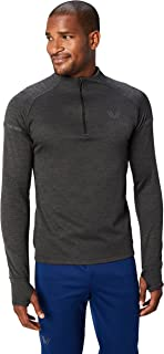 Amazon Brand - Peak Velocity Men's Thermal Waffle 'Build Your Own' Athletic-Fit Run Tops (Hoodie, Quarter-Zip)