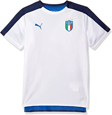 Puma - PUMA - Enfant FIGC Italia Stadium Jersey SS Jr, Medium ...