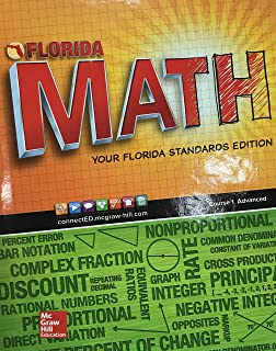 Florida MATH: Your Florida Standards Edition - Course 1 Advanced