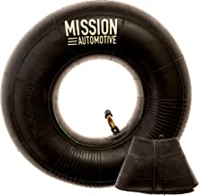 """Mission Automotive 2-Pack of 4.10/3.50-4"""" Premium Replacement Tire Inner Tubes - for Hand Trucks, Dollies, Wheelbarrows, Lawn Mowers, Trailers and More - Tube for 4.10 3.50-4/410/350-4 Wheel"""