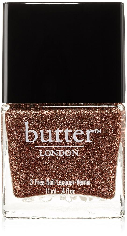 皮バイオリニスト同化Butter London 3 Free Nail Lacquer Bit Faker (並行輸入品)
