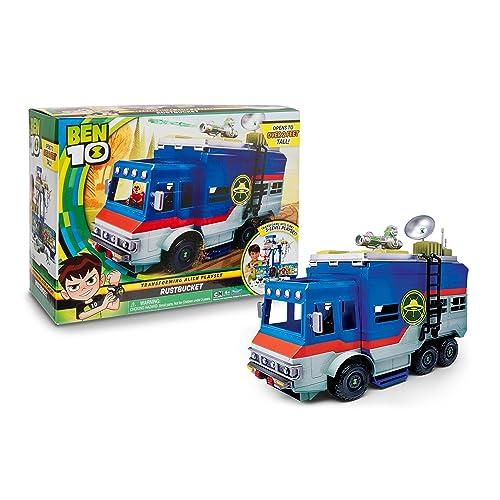Ben 10 - BEN03 - Ben10 - Van Transformable Aire De Jeu - 3 en 1
