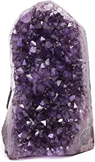 Deep Purple Amethyst Geode (at Least 1 Lb Guaranteed) Cluster Crystal with Ready to Gift Box Included Amazing Stones from Uruguay