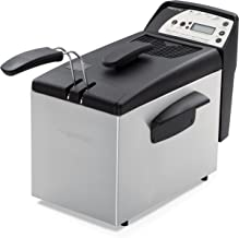 Presto 05462 Digital ProFry Immersion-Element 9-Cup Deep Fryer