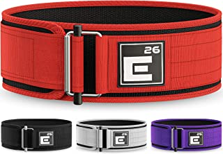 Element 26 Self-Locking Weight Lifting Belt | Premium Weightlifting Belt for Serious Crossfit, Weight Lifting, and Olympic Lifting Athletes| Lifting Belt for Men and Women | Workout Belt for Lifting
