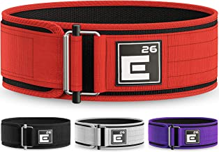Self-Locking Weight Lifting Belt | Premium Weightlifting Belt for Serious Functional..