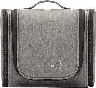 DELANEY LANE Toiletry Bag - The Explorer - Large Quality Hanging Travel Organiser