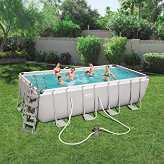 Piscina C/Marco Bestway 56670 Power Steel 488 x 244 x 122h