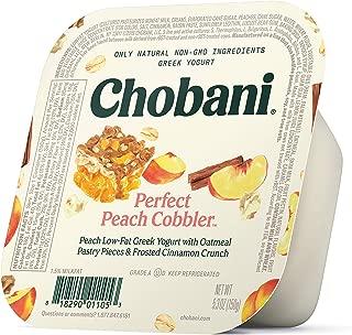 Chobani Flip Low-fat Greek Yogurt, Peach Cobbler 5.3oz