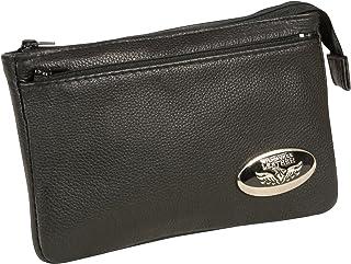 Milwaukee Leather MP8820-BLK-PCS Black Small Ladies Shoulder Bag with Zipper Closure