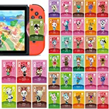 37PCS ACNH Tiny NFC Tag Game Villager Invite Cards for Animal Crossing New Horizons Compatible with Switch/Lite/Wii U/New 3DS