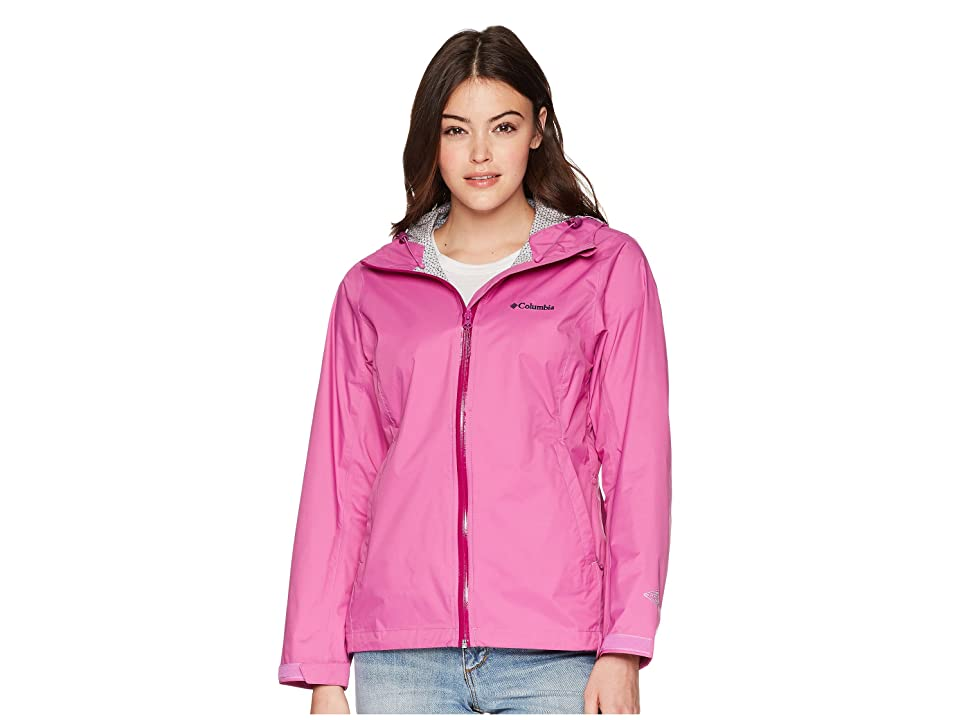 Columbia EvaPOURationtm Jacket (Bright Lavender/Intense Violet) Women
