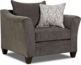 Simmons Upholstery Albany Chair, Pewter