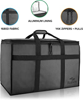 Best insulated nylon food delivery bag pan carrier Reviews