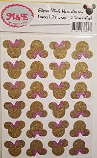big minnie mouse stickers