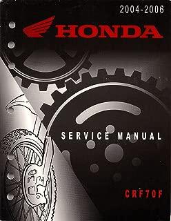 2004-2006 Honda Official Factory Service Manual CRF70F