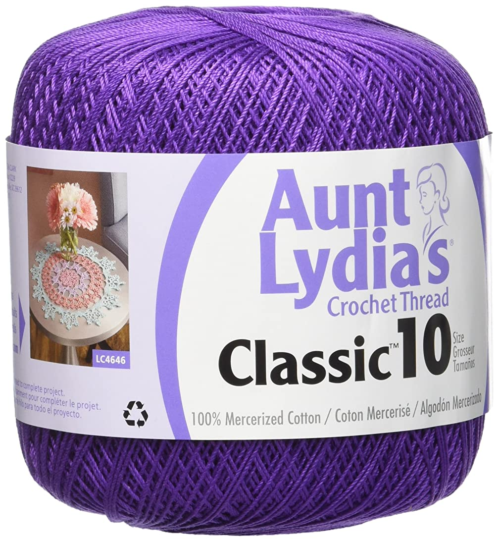 Coats Crochet Classic Crochet Thread, 10, Purple