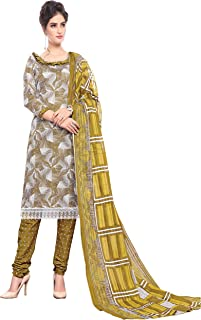Minu salwar Cotton Printed Suit sets Multi(Pbeauty_6001_0)
