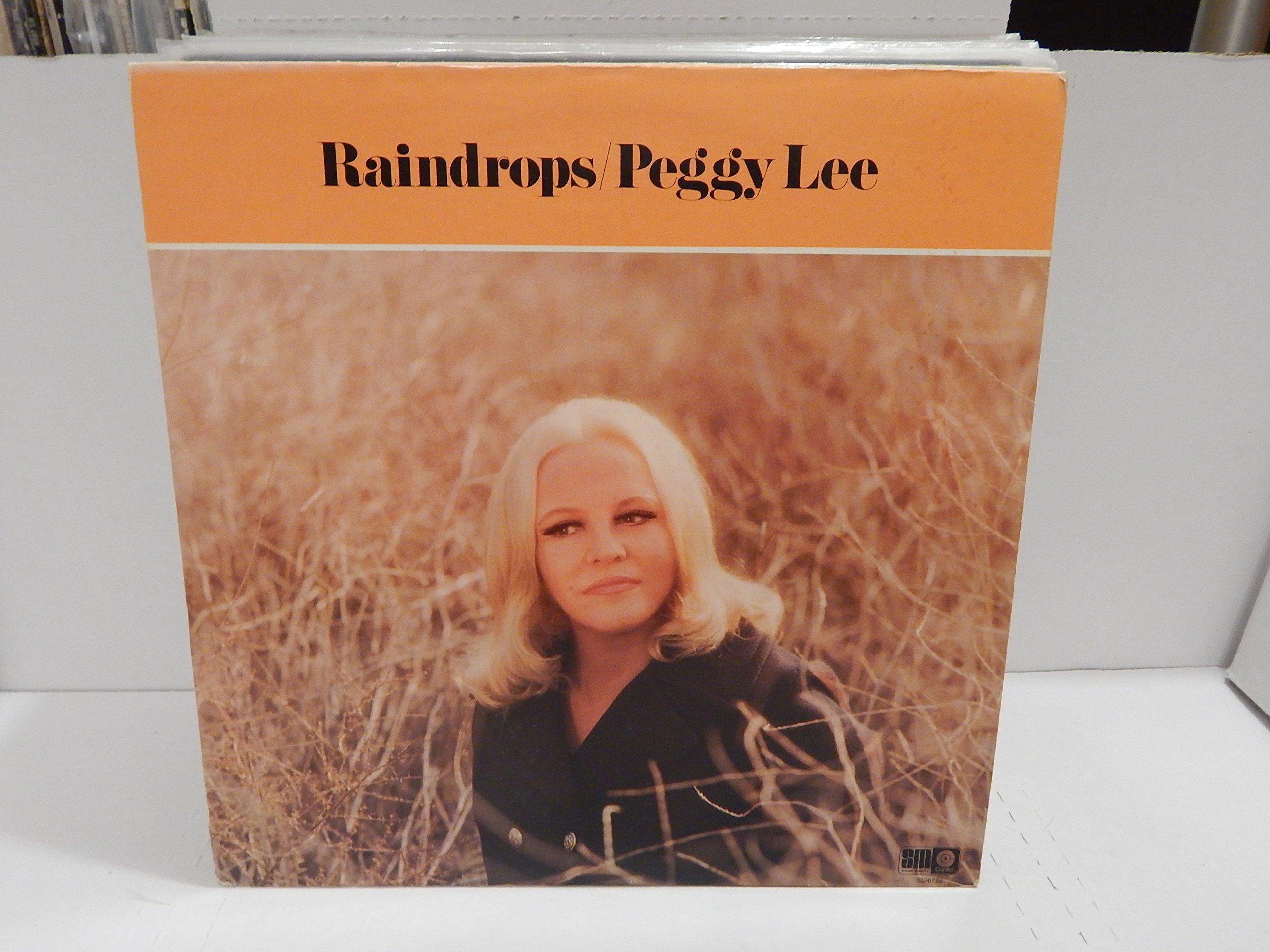 Peggy Lee Rain Drops Tracklist