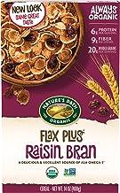 Nature's Path Flax Plus Organic Cereal, Raisin Bran, 14 Oz Box (Pack of 4)