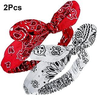 bandana headband red
