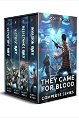 They Came for Blood: The Complete Sci-Fi Adventure Series Kindle Edition