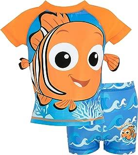 Disney Boys' Finding Nemo Two Piece Swim Set