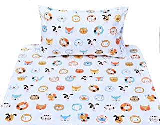 fox print bed sheets