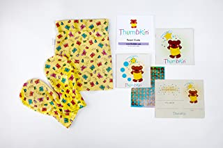 Stop Thumb Sucking Complete System With Step by Step Parent Guide - Butterfly Pattern -By Thumbkin - Small