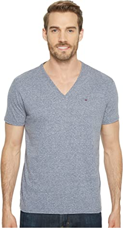Tommy Jeans - Tri-Blend V-Neck T-Shirt