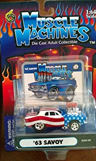 Muscle Machines 63 Savoy stars and stripes GS02-02 by Funline