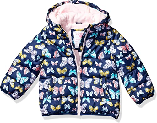 Carter's Girls' Little Fleece Lined Puffer Jacket Coat