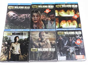 The Walking Dead: The Complete Seasons 1-6 Limited Edition Lenticular Packaging Set