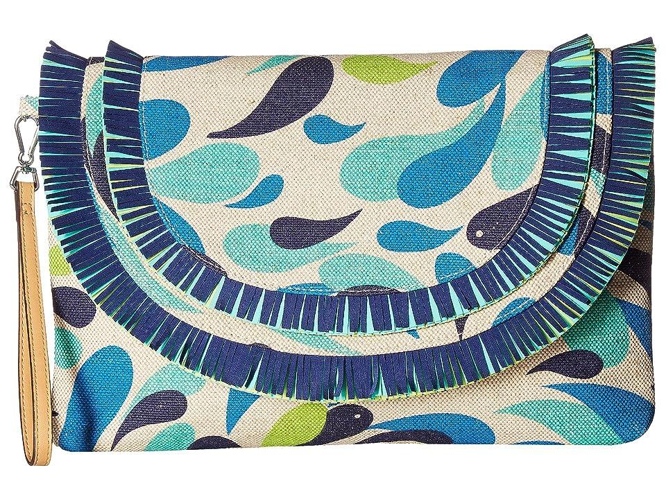 Vera Bradley Fringed Wristlet (Summer School) Wristlet Handbags