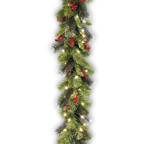Christmas Greenery.Christmas Greenery Garland Amazon Com