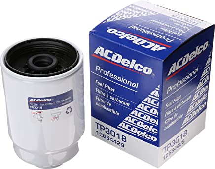 amazon com ac delco fuel filters filters automotiveacdelco tp3018 professional fuel filter with seals