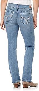 WallFlower Women's InstaStretch Bling Luscious Curvy Bootcut Jeans Jeans
