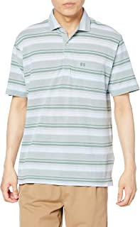 (マックレガー) McGREGOR 【吸汗速乾】 鹿の子 ボーダー ポロシャツ