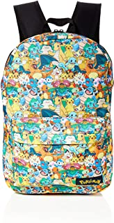 POKEMON All-over Characters Print Backpack Mochila tipo casual, 45 cm, 15 liters, Varios colores (Multicolour)