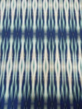 Abstract Lines Design Fabric on Navy Polyester Venezia Spandex 2 Ways Stretch