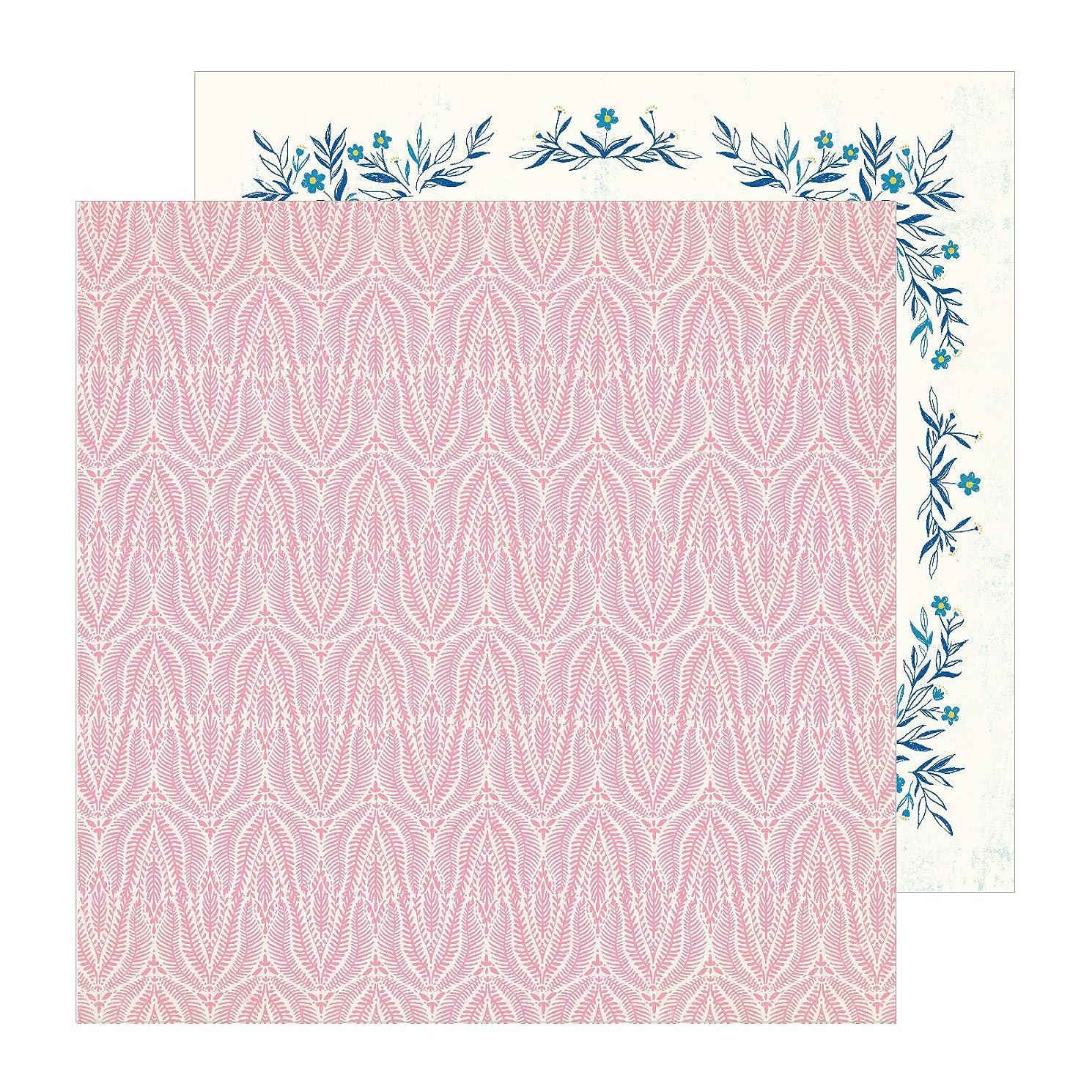 アノイ受益者感性Crate Paper (クレートペーパー) パターンペーパー サニーデイ - 12 x 12 - Coral 350777