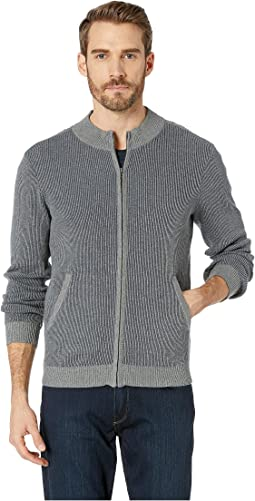 Beacon Long Sleeve Full Zip Sweater